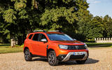 13 Dacia Duster 2021 facelift first drive static front