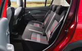 Dacia Sandero Stepway Techroad 2019 first drive review - rear seats