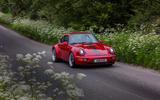 13 Everrati Porsche 964 2021 UK FD on road front