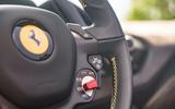 Ferrari 488 Pista Spider 2019 first drive review - steering wheel