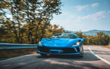 Ferrari F8 Tributo 2019 first drive review - on the road nose