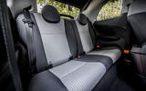 Fiat 500 electric 2021 first drive review - rear seats
