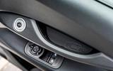 13 Fiat 500e Action 2021 UK FD door cards