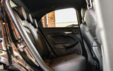 Fiat 500x Sport 2019 first drive review - rear seata