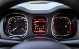 Fiat Panda Cross Hybrid 2020 first drive review - instruments