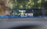 Ford Focus 2018 first drive review head-up display