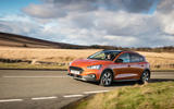 Ford Focus Active 2019 first drive review - on the road side