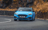 13 Ford Focus ST Edition 2021 UK FD on road front
