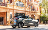 Ford Puma Vignale 2020 UK first drive review - static rear