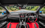 Honda Civic Type R 2020 UK first drive review - dashboard