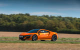 Honda NSX 2019 UK first drive review - on the road front