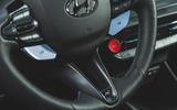 13 Hyundai i20 N 2021 UK first drive review steering wheel