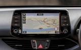 Hyundai i30 Fastback N 2019 UK first drive review - infotainment sat-nav