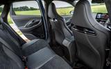 13 Hyundai i30N DCT 2021 UK FD rear seats