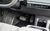 13 Hyundai Ioniq 5 2021 FD Norway plates pedals