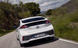 Hyundai Ioniq plug-in hybrid 2019 first drive review - on the road rear