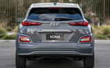 Hyundai Kona Electric 2018 first drive review static rear