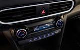 Hyundai Kona Hybrid 2019 first drive review - climate controls