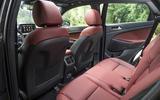 Hyundai Tucson 2.0 CRDI 48v 2018 first drive review rear seats
