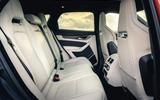 13 Jaguar F Pace SVR 2021 UK first drive review rear seats