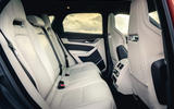 13 Jaguar F Pace SVR 2021 UK first drive review rear seats