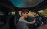 Jaguar F-Type Coupé 2020 first drive review - Simon Davis driving