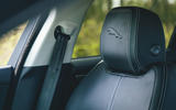 13 Jaguar XE P250 R Dynamic 2021 UK FD front seats