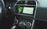 Jaguar XE P300 2019 first drive review - infotainment