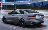 Jaguar XE - rear