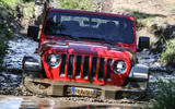 Jeep Wrangler Rubicon 2dr 2018 first drive review wading