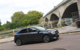 Kia Rio GT Line 2018 UK first drive review on the road side