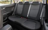 13 Kia Stonic 48v 2021 UK first drive review rear seats