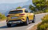 Kia Xceed 2019 first drive review - cornering rear