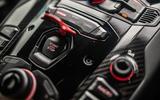 Lamborghini Aventador SVJ 2018 UK first drive review - start button