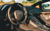 Lamborghini Aventador SVJ Roadster 2019 first drive review - dashboard