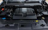 13 Land Rover Defender V8 2021 UK FD engine