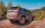 Land Rover Discovery Sport 2019 first drive review - offroad rear