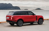 Land Rover Mk5 Range Rover render - static rear