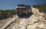 Land Rover Range Rover Velar SVAutobiography 2019 first drive review - rock climbing