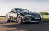 Lexus LC 500 Limited Edition 2020 UK first drive review - on the road front