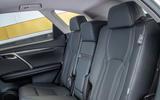 Lexus RX 450hL 2018 review middle row seats