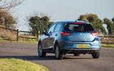 Mazda 2 Sport Nav 2020 UK first drive review - cornering rear