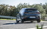 Mazda 3 2019 European first drive review - cornering rear