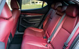 Mazda 3 Skyactiv-X 2019 first drive review - rear seats