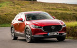 Mazda CX-30 2019 UK first drive review - cornering front