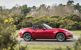 Mazda MX-5 2.0 Sport Tech 2020 UK first drive review - static side