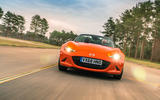 Mazda MX-5 30th Anniversary Edition 2019 UK first drive review - on the road nose