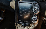 McLaren 720S Spider 2019 UK first drive - infotainment