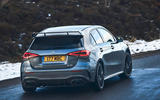 Mercedes-AMG A35 2019 UK first drive review - on the road rear