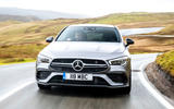 Mercedes-AMG CLA 35 Shooting Brake 2020 UK first drive review - on the road nose